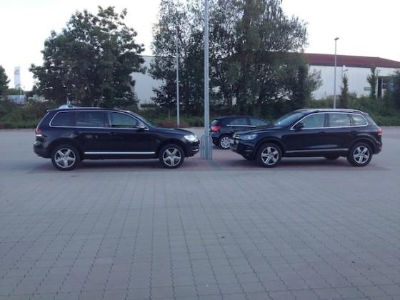 TI - TII  ...... letztens auf dem Parkplatz ..........