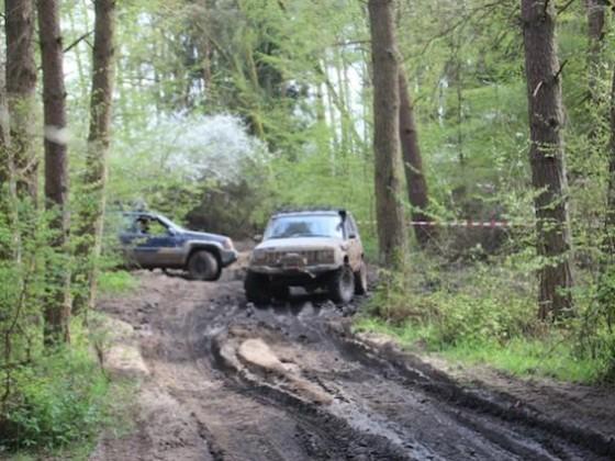 Eine Horde Jeeps