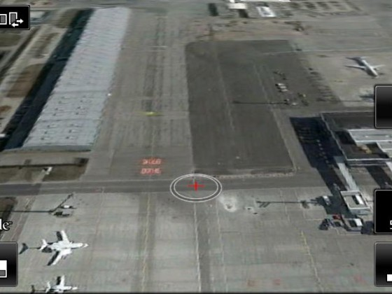 Screenshot Google Earth, Flughafen MUC II