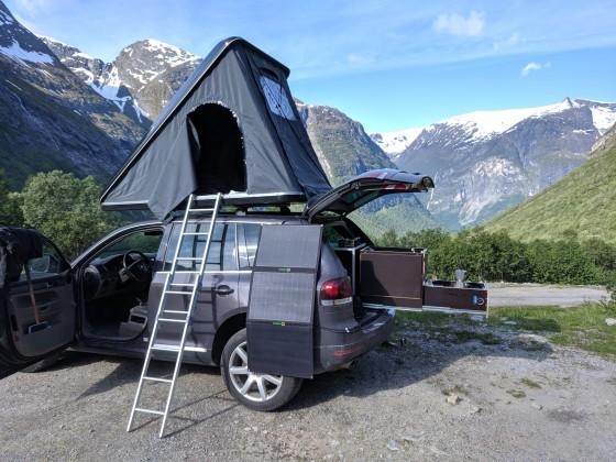 Der Dicke als Camper