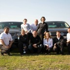 Das VW driving experience Team. (Schöne Grüße !!)