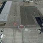 Screenshot Google Earth, Flughafen MUC II
