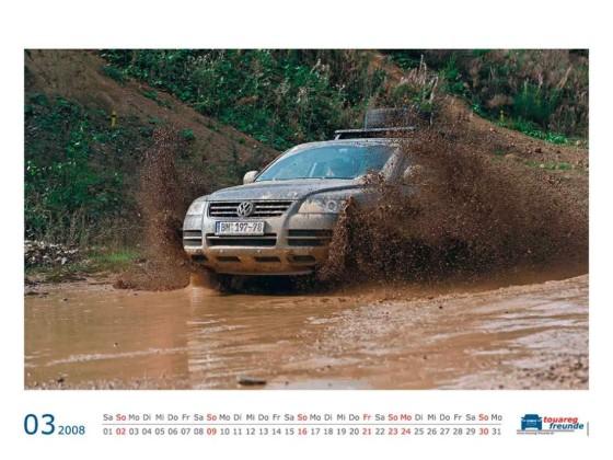 """TF Kalender 2008 """"März"""""""