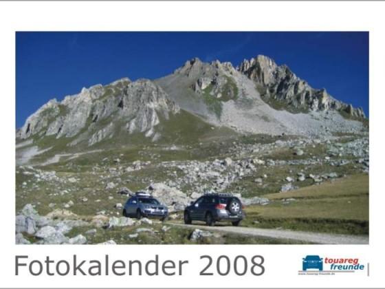 """TF Kalender 2008 """"Titelblatt"""""""