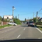 Ein typisches Dorf außerhalb von Bratislava