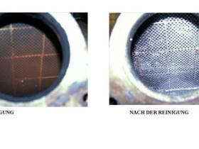 Comparison DPF Ultrasonic cleaning