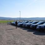 Sammelpunkt am 06.09.2013 auf dem Parkplatz vor dem VW-Werk Bratislava